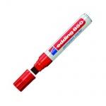 Маркер перманентный Edding 850 красный, 16мм, клиновидный наконечник, универсальный, заправляемый