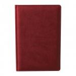 Ежедневник недатированный Attache Сиам бордовый, А5, 176 листов, искусственная кожа