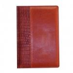 Ежедневник недатированный Attache коричневый, А5, 176 листов