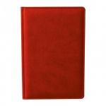 Ежедневник недатированный Attache Сиам красный, А6, 176 листов, искусственная кожа