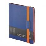 Ежедневник недатированный Bruno Visconti Leggenda темно-синий, B5, 136 листов, искусственная кожа, о