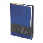 Ежедневник недатированный Bruno Visconti Metropol синий, А5, 136 листов