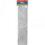 Бумага крепированная Апплика Сделай сам серебряная, 50х200см