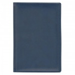 Ежедневник недатированный Attache Вива синий, А5, 176 листов, искусственная кожа
