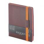 Ежедневник недатированный Bruno Visconti Leggenda коричневый, B5, 136 листов, искусственная кожа, ор