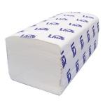 Бумажные полотенца Lime комфорт листовые, белые, V укладка, 180шт, 1 слой, 252000