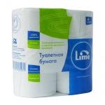 Туалетная бумага Lime, белая, 2 слоя, 4 рулона, 20м, 10.20