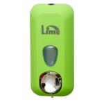 Диспенсер для мыла в картриджах Lime Color, зеленый, 0.5л, A 71501VES