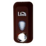 Диспенсер для мыла в картриджах Lime Color, коричневый, 0.5л, A 71501MAS