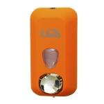 Диспенсер для мыла в картриджах Lime Color, оранжевый, 0.5л, A 71501ARS