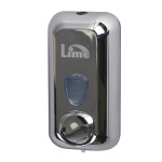 Диспенсер для мыла в картриджах Lime Satin, хром, 0.5л, A 71500FS