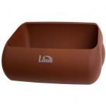 Держатель для мешка Lime Color, коричневый, для корзины 23л, A 74401MAS