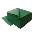 Салфетки сервировочные Lime, темно-зеленые, 24х24см, 1 слой, 400шт, К410600
