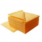 Салфетки Lime, желтые, 33х33см, 1 слой, 400шт, К610800