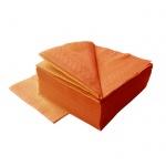 Салфетки Lime, оранжевые, 24х24см, 2 слоя, 250шт, К510250
