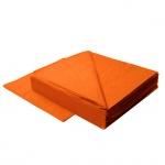 Салфетки Lime, оранжевые, 33х33см, 2 слоя, 125шт, К740250