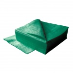 Салфетки сервировочные Lime, темно-зеленые, 33х33см, 2 слоя, 125шт, К740600