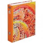 Папка-регистратор А4 Attache Selection Gaudi 80мм, оранжевая, с арочным механизмом
