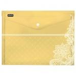 Папка-конверт на кнопке Attache Амели ассорти, А4, 6шт/уп