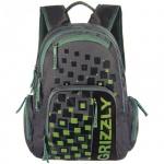 Рюкзак для мальчиков Grizzly хаки, RU-510-1