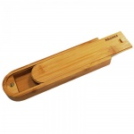Пенал для художника Малевичъ для карандашей 2.8х 6.5х23.5см, со сдвижной крышкой, бамбук, МЛ-153