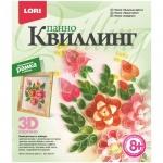 Квиллинг панно Lori Пышные цветы