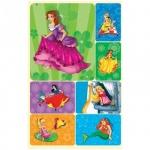 Наклейки декоративные детские Миленд Принцессы, 15х9см