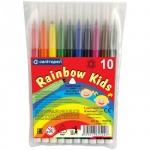 Фломастеры Centropen Rainbow Kids 10 цветов, смываемые
