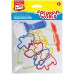 Набор инструментов для лепки Erich Krause Artberry Colorful World, 10 предметов