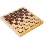 Игра настольная Орловские Шахматы Шашки деревянные с доской