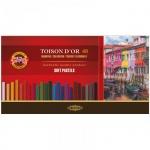 Пастель художественная Koh-I-Noor Toison d'or 48 цветов, мягкая