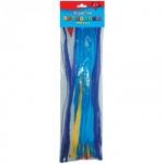 Материал декоративный Апплика Пушистая проволока 30см, длинное перо, одноцветная