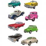 Наклейки декоративные детские Herma Decor Ретро-автомобили, 16х9см, объемные