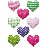 Наклейки декоративные детские Herma Magic Сердечко в горошек, 16х9см, объемные