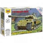 Модель для сборки Звезда Немецкий средний танк T-V Пантера, масштаб 1:72