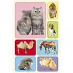 Наклейки декоративные детские Миленд Животные, 15х9см