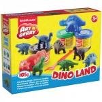 ����� ��� ����� Erich Krause Dino Land, 3 �����, � ����������