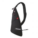 Рюкзак универсальный Wenger черный, с одним плечевым ремнем, 18302130