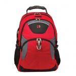 Рюкзак универсальный Wenger красно-черный, серые вставки, 3259112410
