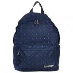 Рюкзак для девочек Brauberg Полночь, темно-синий
