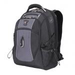Рюкзак универсальный Wenger черный, серые вставки, 6677204410