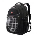 Рюкзак универсальный Wenger черный, клетка, 3107204408