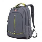 Рюкзак универсальный Wenger серый, желтые вставки, 3165426408