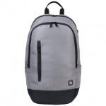Рюкзак для мальчиков Brauberg серый, с черной молнией