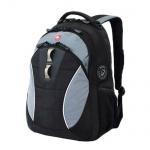 Рюкзак универсальный Wenger черный, серые вставки, 16062415