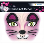 Наклейки для лица Herma Face Art Cat, 12х12.7см