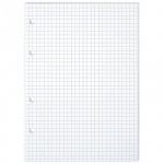 Сменный блок для тетради на кольцах Office Space белый, А5, 80 листов, в клетку