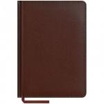 Ежедневник недатированный Office Space Caprice коричневый, А5, 160 листов, искусственная кожа