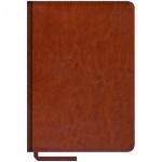 Ежедневник недатированный Office Space Sarif коричневый, А5, 160 листов, искусственная кожа