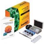 Набор для опытов Levenhuk K50 с инструментами и образцами